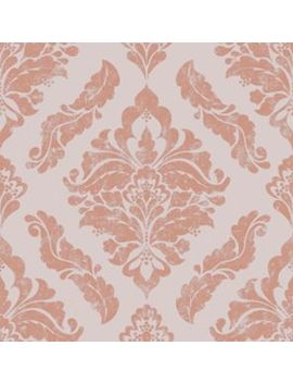 Graham & Brown Boutique Damaris Rose Gold Decorative Wallpaper   10m by Wickes