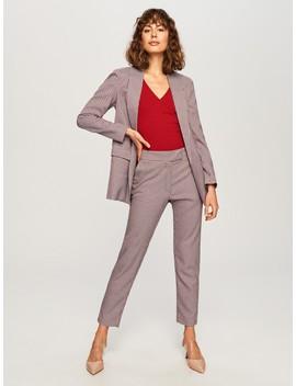 Garniturowe Spodnie by Reserved