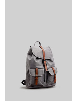Light Grey Melange Backpack by Springfield