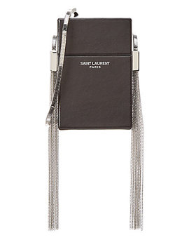 Saint Laurent Smoking Box Leather Crossbody by Saint Laurent