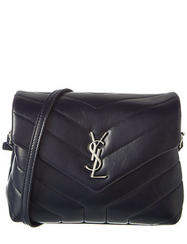 Saint Laurent Lou Lou Toy Matelassé Leather Shoulder Bag by Saint Laurent