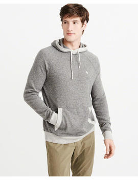 Cashmere Icon Hoodie by Abercrombie & Fitch