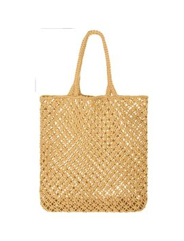 Macrame Cotton Cord Tote   Women's by The Beach People