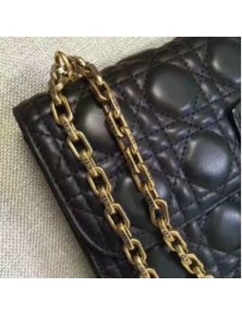 Dioraddict Chain Messenger Bag Cannage Shoulder Bag by I Offer