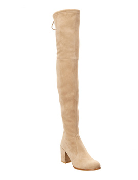 Stuart Weitzman Over The Knee Suede Boot by Stuart Weitzman