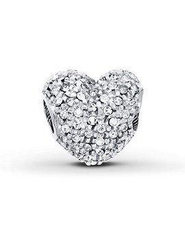 Charmed Memories Heart Charm Sterling Silver by Kay Jewelers