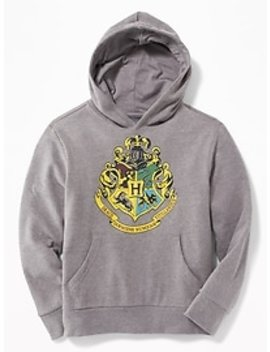 Harry Potter™ Hogwarts™ Crest Pullover Hoodie For Kids by Old Navy