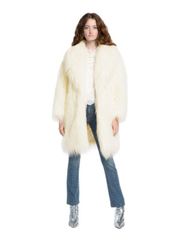 Yetta Faux Fur Coat by Alice And Olivia