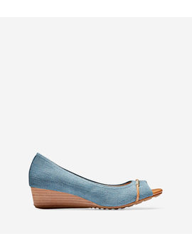 Emory Braided Wedge (40mm) by Cole Haan