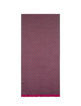 Gucci Women's  Fuchsia Wool Scarf by Gucci