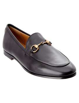 Gucci Jordaan Leather Loafer by Gucci