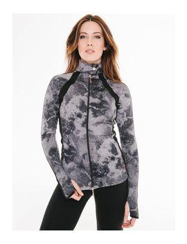 Smoke Jersey Scuba 2 Jacket by Hard Tail Forever