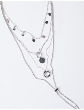 Around In Circles Necklace by 2020 Ave