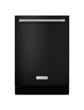 Kitchen Aid 44 Decibel Built In Dishwasher (Black) (Common: 24 In; Actual: 23.875 In) Energy Star by Lowe's