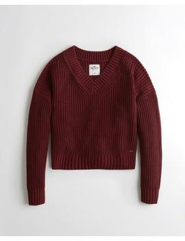 V Neck Sweater by Hollister