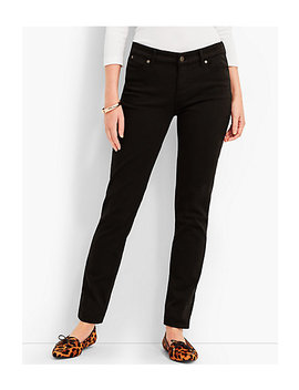 Denim Slim Ankle Black by Talbots