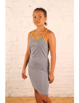The Ragged Priest Striped Summer Dress by The Ragged Priest