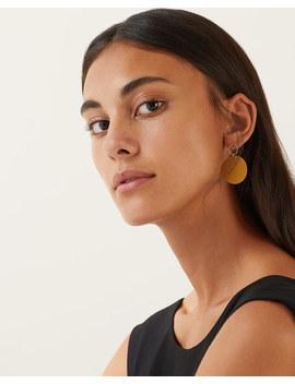 Oversize Hoop & Rubber Earrings by Jigsaw