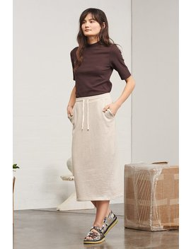 Kowtow Building Block Skirt   Natural Marle by Garmentory