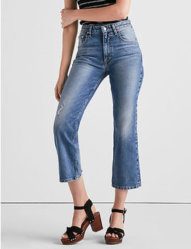 Lucky Pins Cropped Boot Jean In Puerto De Luna by Lucky Brand