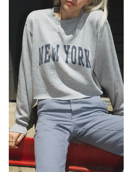 Nancy New York Sweatshirt by Brandy Melville