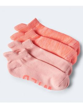 2 Pack Run Wild Athletic Socks by Aeropostale