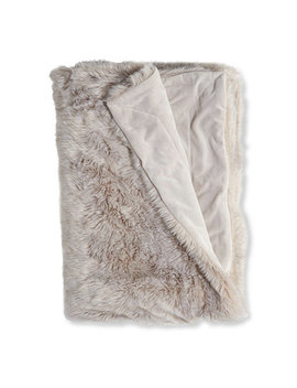 Faux Fur Throw by L.L.Bean