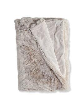 Faux Fur Throw by L.L.Bean