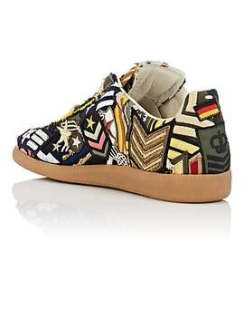 "Men's ""Replica"" Patchwork Sneakers by Maison Margiela"