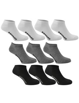 10 Pack Trainer Socks by Donnay