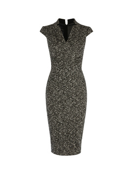 Tweed Pencil Dress by Db240 Dc030 Kd046 Dd026 Dc280 Dc267 Dc282 Dc174 Dc288 Dc166 Pc004 Dc122