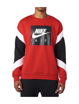 Air Fleece Long Sleeve Crew by Nike