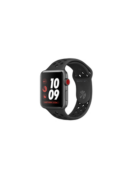 AppleWatch Nike+ Gps+Cellular, 42mm Space Gray Aluminum Case With Anthracite/Black Nike Sport Band by Apple