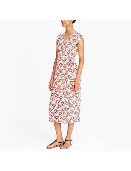 J.Crew Mercantile Midi Wrap Dress by J.Crew