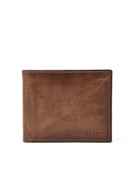 Derrick Rfid Passcase by Fossil