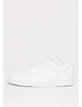 Air Jordan 1 Low White/Pure Platinum by Jordan