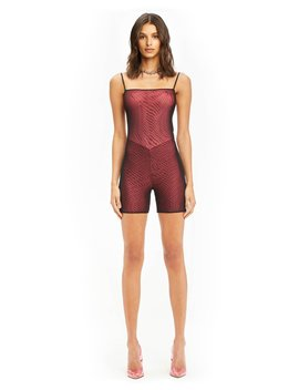 Ulric Playsuit   Pink/Black by I.Am.Gia
