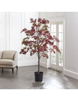 Artificial Japanese Maple Tree by Crate&Barrel