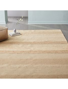 Jute Stripe Rug by West Elm