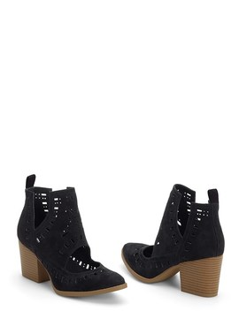 Laser Cut Bootie by Venus
