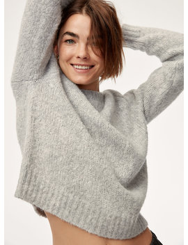 Luxe Crew Sweater by The Group By Babaton