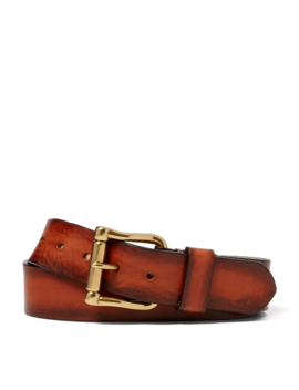 Vachetta Leather Belt by Ralph Lauren