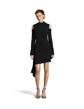 Long Sleeve Cold Shoulder Dress by Issue New York