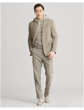 Suede Sport Coat by Ralph Lauren