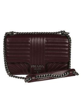Prada Diagramme Shoulder Bag by Prada