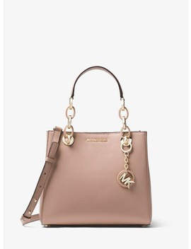 Cynthia Small Leather Satchel by Michael Michael Kors