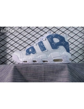 Supreme Air More Uptempo Woemn'ds Men's Sneakers by I Offer
