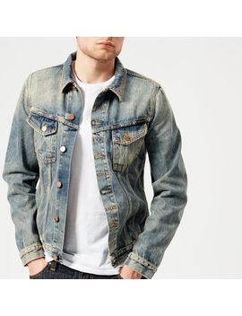 Nudie Jeans Men's Billy Denim Jacket   Shimmering Indigo by Nudie Jeans