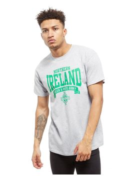 Official Team Northern Ireland Scroll T Shirt by Official Team