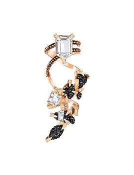 Manor Ring, Multi Colored, Rose Gold Plating by Swarovski Crystal